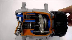 Variable Displacement Ac Compressor