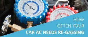 car air conditioning regassing
