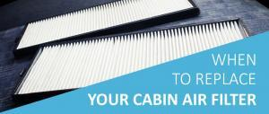 Replacing Your Cabin Air Filter